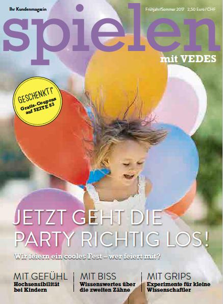 Cover des SPIELEN Magazins